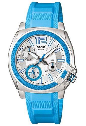 Casio ltp1320b2a2–Orologio da donna gomma blu