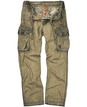 JET LAG Cargohose NO10 army-grün 3XL/34