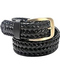 VOGARD Men's Belt (Black, Free Size)