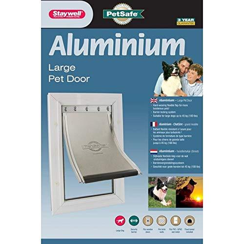 PetSafe Staywell puerta marco aluminio-blanco-para