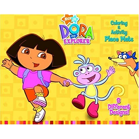 Dora C&A Place Mats (Dora the Explorer) (Place Mats to Color) by Golden Books (2001-10-08)