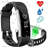 Fitness Tracker, Monitor del Sonno della Frequenza Cardiaca AISIRER Activity Tracker Cardio Contapassi Impermeabile IP67 Orologio Fitness Donna Uomo con 14 Sport Mode GPS Notifiche per iOS Android