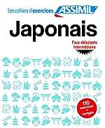 Cahier Exercices Japonais Faux débutants/Intermédiaire de Garnier Catherine