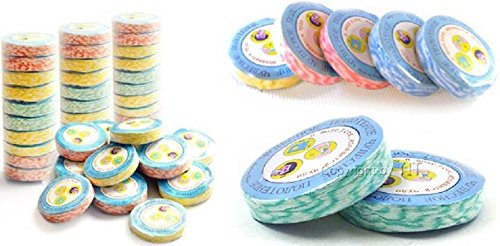 SND Creation Magic Coin Size Tissue Towel for Travelling(Pack of 10)