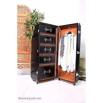 butlers hemingway koffer bar mit separatem tablett aus eschenholz k che haushalt. Black Bedroom Furniture Sets. Home Design Ideas