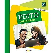 Édito A2: Cahier d'exercices + CD MP3