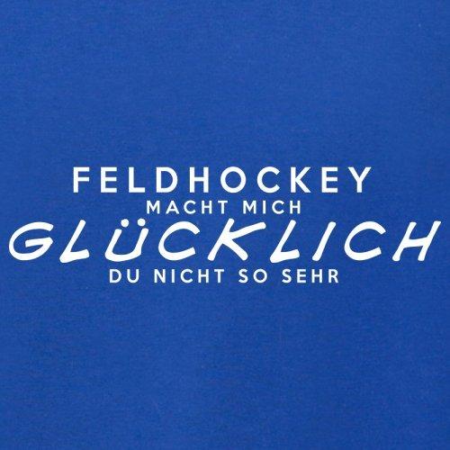 Feldhockey macht mich glücklich - Herren T-Shirt - 13 Farben Royalblau