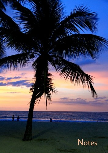 Preisvergleich Produktbild Notizbuch A4 - kariert - Karibik / Palme / Urlaub: DIN A4 - Tagebuch - reisen - Reisetagebuch