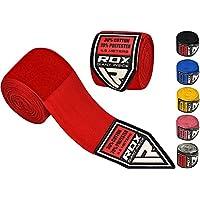 RDX Vendas Boxeo Cinta Elástico Mano Muñeca MMA 4,5 Metros Envolturas Vendaje Kick Boxing
