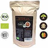 Zucchero di cocco bio arnetica, 1000g 1kg, organico, biologico, non raffinato, zucchero completo, Filippine