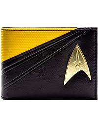 Cartera de Star Trek Starfleet Traje de Comando Negro