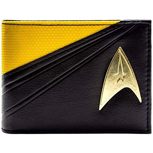 Cartera de Star Trek Starfleet Traje de Comando Negro 2