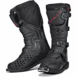 Black MX Enigma Motocross Boots UK 7/EU 41 Black