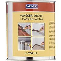 Wenko Wasserdicht 750 ml - Dichtungsmasse, Fassungsvermögen 0,75 L, Chemische Zusammensetzung, 10 x 12 x 10 cm, 1 Stück, grau, 56140111500