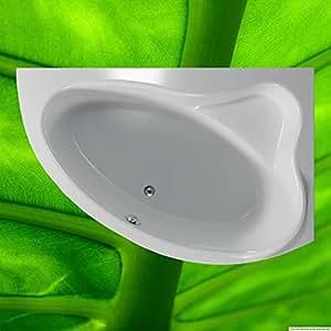 Baignoire 150x 100cm + support de baignoire + Bonde 100x 150droite Espace sparwanne