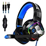 Gaming Headset für PS4 PC Xbox One, ZIUMIER Game Headphone mit Noise Cancelling...