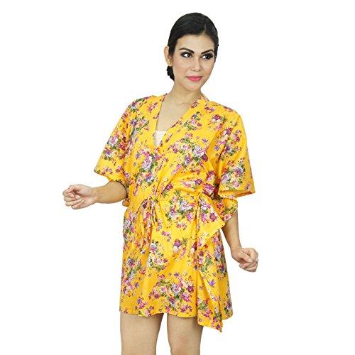Boho Hippie African Kaftan Frauen Hemd Strand Vertuschung Kaftan Geschenk für Frauen Gelb und rosa
