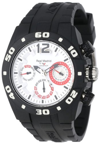 Montre Viceroy Real Madrid 432836-15 Mixte Blanc