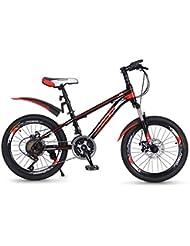 Paseo Bicicleta Unisex 20 Pulgadas Rueda Pequeña Bicicleta Portátil Bicicleta De Bicicleta De Montaña De 21