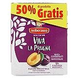 Noberasco Viva la Prugna 250g- Senza conservanti -2 Confezioni da 250 G di Prugne Secche Denocciolate