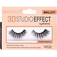 Swiss Beauty Natural 3D Studio Effect Eyelashes, Malloy