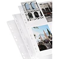 Hama Photo sleeves for ring-binder albums A4, White, 10 x 15 cm Blanco álbum de foto y protector - Álbum de fotografía (White, 10 x 15 cm, Blanco, 10 hojas, 9 x 13/10 x 15, 297 mm, 210 mm)