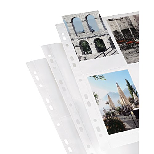 Hama Photo Sleeves for Ring-Binder Albums A4