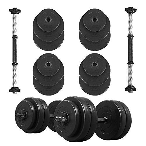 body-revolution-vinyl-dumbbell-set-adjustable-free-weights-10kg-15kg-20kg-30kg-40kg-50kg-sets-30kg