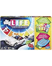 Hasbro Gaming The Game of Life Electronic Board Game, Electronic Banking Unit and Bank Cards, Spin to Win; Game for Kids Ages 8 and Up