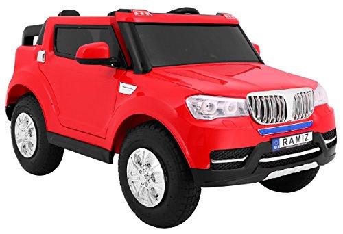 RC Auto kaufen Kinderauto Bild 6: BSD Elektro Kinderauto Elektrisch Ride On Kinderfahrzeug Elektroauto Fernbedienung - S8088 AIR Gepumpte Räder 2-Sitzer - Rot*