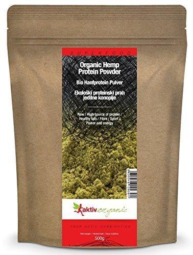 Aktiv Organic BIO Hanfprotein Pulver, 1er Pack (1...