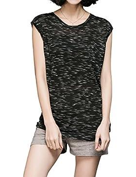 Luna et Margarita Camiseta Sin Mangas para Mujer Chic Jacquard Sport