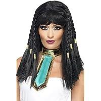 Smiffy's Perruque de Cléopâtre Noir Femme