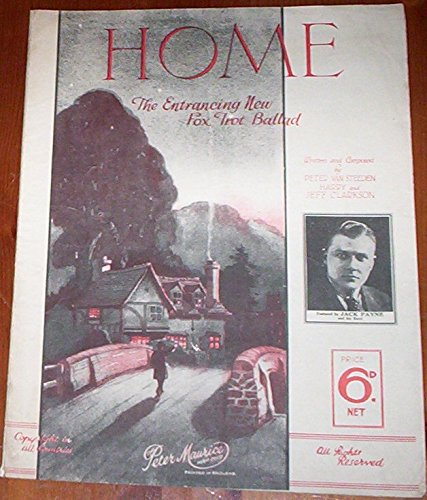 home-jack-payne-1931-rare-dance-band-large-sheet-music-guitar-piano-vocal