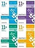 11+ English, Maths, Non-verbal Reasoning, Verbal Reasoning: Rapid Tests Bundle: Year 6, Ages 10-11...