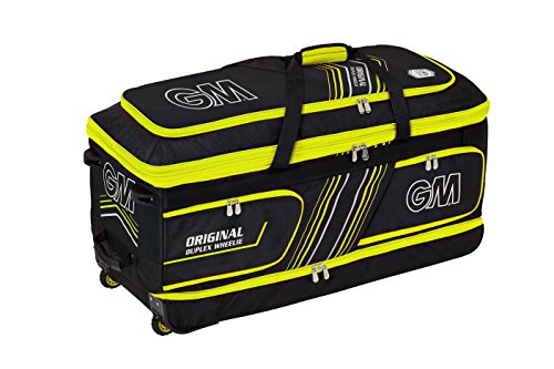 GM Original Duplex Wheelie 2018 Tasche, Gelb, - Gm Cricket-fledermäuse