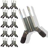 20 Klemmsicherungen Rollladen Einbruchschutz Rollladensicherungen ► 10er SET = 20 Stück