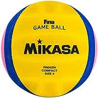 Mikasa W-6000 W Balón de Goma, Wasserball W6000W, Mehrfarbig, Umfang: 68-71 cm, Multicolor, 5