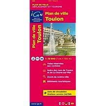 72513 PLAN DE TOULON  1/13.000