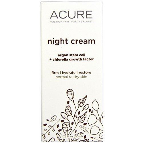 Night Cream, Argan Stem Cell + 2{af72e726e507aaf8d577ddb395737606f51b682d3391b8dec0bb88514333d195} Chlorella Growth Factor - Acure Organics by Acure Organics