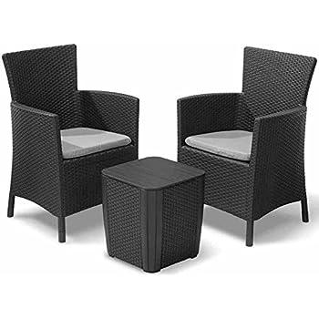 Rattan set  Amazon.de: Gartenmöbel Rattan Set Lounge Set Polyrattan Sitzgruppe ...