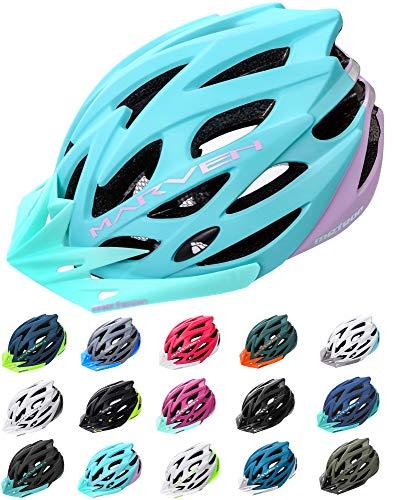 meteor Marven Fahrradhelm Herren Damen Kinder-Helm MTB rollerhelm Kinder-fahrradhelm für Downhill rennradhelm Mountainbike skaterhelm BMX fahradhelm Scooter Jungen Bike Helmet