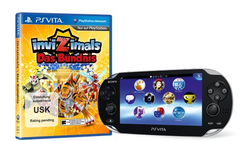 Sony PlayStation Vita (WiFi) inklusive Invizimals: Das Bündnis