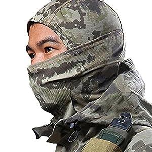 Cagoule de camouflage - Protection intégrale pour des activités de plein air, de ski