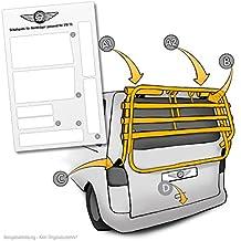 lackschutzpads apto para portabicicletas Volkswagen T5(Modelos 2003–2015)–Etiqueta, barniz protector de pantalla transparente/protectoras (7piezas) para–Portabicicletas trasero y portón bicicleta