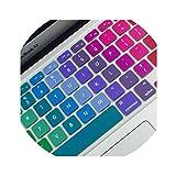 Cover colorata in silicone per tastiera e notebook da 11', 13', 15', MacBook Air...