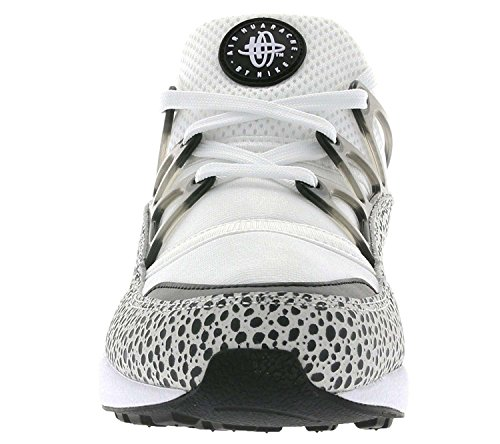 Nike W Air Huarache Light Prm, Chaussures de Sport Femme Blanc Cassé - Blanco (White / Black)