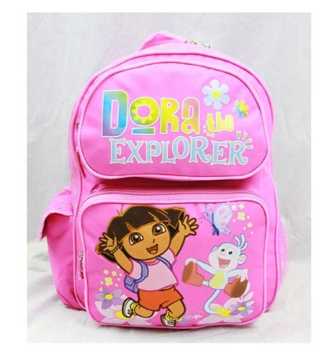 Dora the Explorer Medium Backpack with Jumping boots by Dora the (Boots Dora The Explorer)