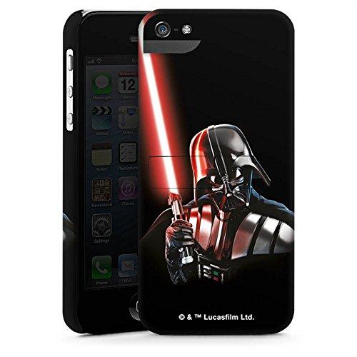 Apple iPhone 8 Silikon Hülle Case Schutzhülle Star Wars Fanartikel Merchandise Darth Vader Premium Case StandUp