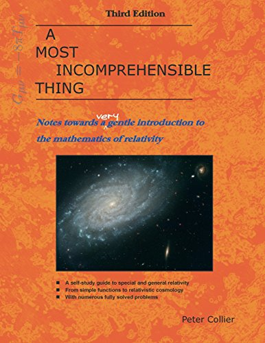 A Most Incomprehensible Thing: Notes Towards a Very Gentle Introduction to the Mathematics of Relativity por Peter Collier